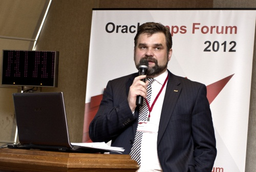 Dmitrij Lagun Oracle AppsForum Minsk